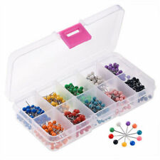 1 Box of (x500) Multi-colors Ball Head Pins Assorted Lot Jewelry Accessories DIY