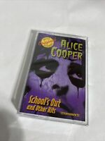 School's Out and Other Hits by Alice Cooper (Cassette-2004, Flashback Records