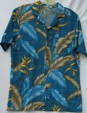 Vintage Frankenstein short sleeve rayon Hawaiian style shirt men's size medium