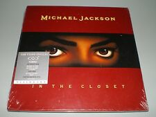 CD/DVD HYBRIDE SINGLE DUALDISC MICHAEL JACKSON IN THE CLOSET NEUF SOUS BLISTER