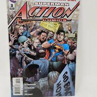 Action Comics #3A ( 2011-2016 ) DC Comic Book VF/NM