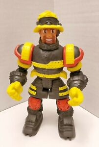 MATTEL RESCUE HEROES USED ACTION FIGURE CONSTRUCTION WORKER?