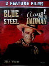 John Wayne - Double Feature: Angel and the Badman/Blue Steel (DVD, DVD Double...