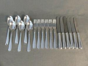BMF Besteck 6 Personen 18 Teile 90er Silberauflage