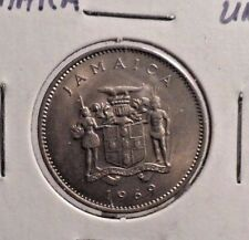 UNCIRCULATED 1969 10 CENT JAMAICAN COIN (101416)1