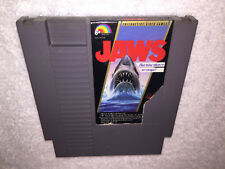 Jaws (Nintendo Entertainment System, 1987) NES Game Cartridge Nice~