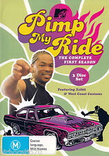 PIMP MY RIDE Complete First Season 3 Disc DVD Set  R4
