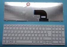 Clavier sony vaio sve15-sve1512q1ew sve1512h6ew sve-15 sve151j11m Keyboard FR