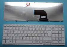 Tastatur SONY Vaio SVE1513S1EW SVE1513C1EW SVE1513C1E/W SVE1513 Keyboard
