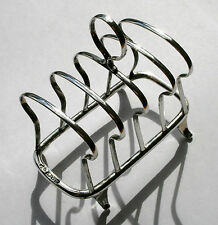 VINTAGE SOLID SILVER TOAST RACK CHESTER 1922