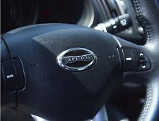 All New Sportage Lettering Steering Wheel Emblem For 11~2015+ Kia Sportage R