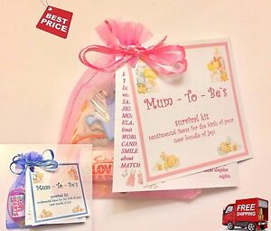Mum Mummy To Be Daddy Survival Kit During Pregnancy Baby Shower Favour Gift UK