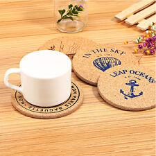 Sous-bock maison en bois durable petits accessoires cartoon qualité table chaud