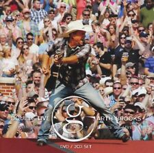 GARTH BROOKS Double Live 2CD/DVD BRAND NEW NTSC Region 0