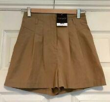 Topshop Camel Shorts, Size 8, Bnwt, RRP £36