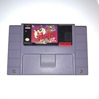 Taz-Mania - SNES Super Nintendo Game - Tested & Working - Authentic!