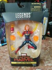 Marvel Legends Binary Captain Marvel NEW, SEALD, Imperfect Box *READ*