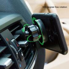 Vehículo Coche Soporte Magnético Teléfono Móvil Soporte de 360 ° Soporte De GPS Montaje De Ventilación De Aire