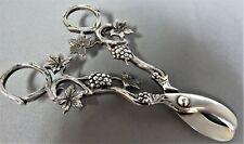 Antique, Solid Silver Grape Scissors. Dutch.    xdod