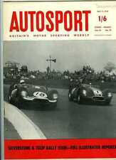 Autosport May 9th 1958 *Daily Express International Trophy & Tulip Rally*