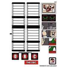 LEGO White Sticker Sheet for Set 76005 Marvel Super Heroes (13053) NEW