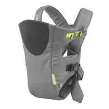 Infantino Breathe Vented Baby Carrier Sporty Grey Holds 8-25 lbs. Euc