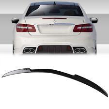 Carbon Fiber Mercedes Benz C207 E-Class Coupe V Trunk Spoiler 2013 E400 E250