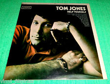 PHILIPPINES:TOM JONES - Help Yourself LP,ALBUM,Pressed by SUPER,RARE!with SKIPS