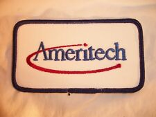 Ameritech Patch - shirt patch - coat patch - arm patch - 4 1/2 inch x 2 1/2 inch