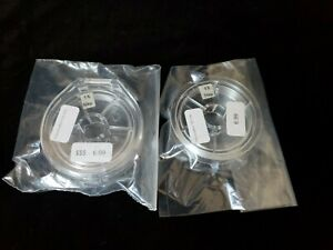 Lot Of 2 Fluorocarbon Tippet For Fly-Fishing, 5X & 4X.