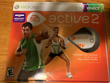 Xbox 360 Active 2 Personal Trainer EA SPORTS - NEW - UNUSED - FREE SHIPPING