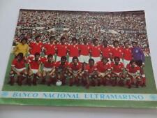 SL BENFICA SPORT LISBOA E BENFICA 1972-73 ? RARE POSTCARD WITH LEGEND EUSEBIO