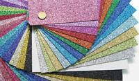 """Glitter Card Stock~ 1 sheet ~ 12x12"""" sheet ~ 66 colors available!"""