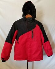 ZEROXPOSUR   SNOW SKI JACKET / RED & BLACK juniors  LARGE 12/14