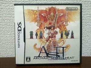 USED Archaic Sealed Heat JAPAN Import Nintendo DS