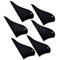 6* Black Mandolin Pickguard 3ply ABS Mandolin Guitar Scratch Plate