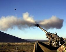 US Marine Corps USMC round from an M-198 Howitzer 12X18 Photograph