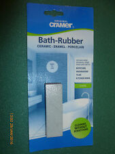 Cramer original bath rubber ceramic,enamel porcelain, clean without scratching