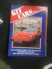 KIT CARS & SPECIALS - DECEMBER 1981/JANUARY 1982