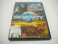 SERENITY DVD (GENTLY PREOWNED)