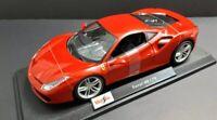 Maisto Ferrari 488 GTB Red 1:18 Special Edition Diecast Car. New