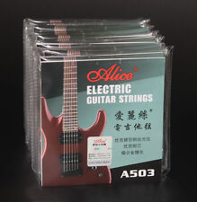 10 Sets A503 Super Light 009-042 Steel Nickel Anti-Rust Electric Guitar Strings