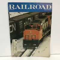 Railroad Magazine Back Issue March 1977 Swaziland Southern Africa Phantom Poem