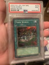 Toon World MRL-076 Super Rare PSA Mint 9 OG Magic Card Unlimited