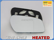 Wing Mirror Glass FORD FOCUS II 2003-07 Wide Angle HEATED Right Side /D022