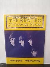 THE BEATLES Christmas Show Souvenir Programme REPRINT Free UK Post