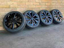BLACK TOYOTA CORROLLA GENUINE 17 INCH WHEELS AND TYRES NEW SET