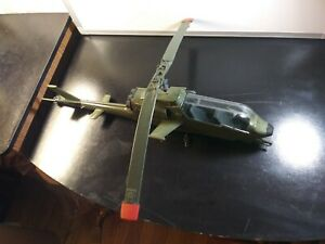 1983 VINTAGE GI JOE WILD BILL DRAGONFLY HELICOPTER EX CONDITION INCOMPLETE WORKS