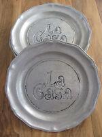 Wilton Armetale Queen Anne Satin Matte-Service/Charger Plate(s)-La Casa-11 Avail