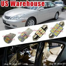 12-pc Luxury Xenon White Interior LED Lights Package Kit For 98-03 Lexus ES300